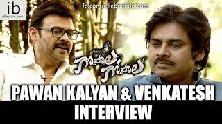 Pawan Kalyan & Venkatesh interview Gopala Gopala - idlebrain.com - IDLEBRAINLIVE