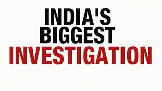 Tonight, get ready for a TV news event, India's biggest investigation - NEWSXLIVE