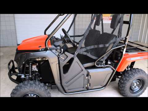 2015 Honda Pioneer SXS 500 Engine Start Up - Chattanooga TN / GA / AL