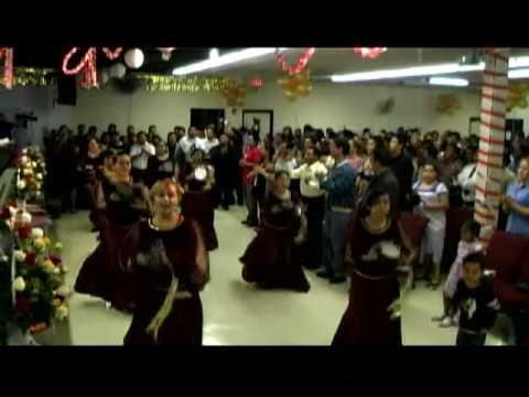 danza cristiana con pandero