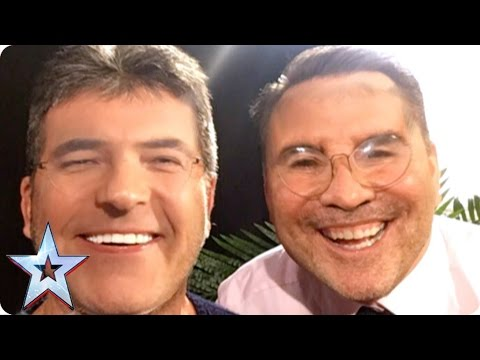 Preview: Check out Simon and David's hilarious Face Swap | Britain's Got More Talent 2017