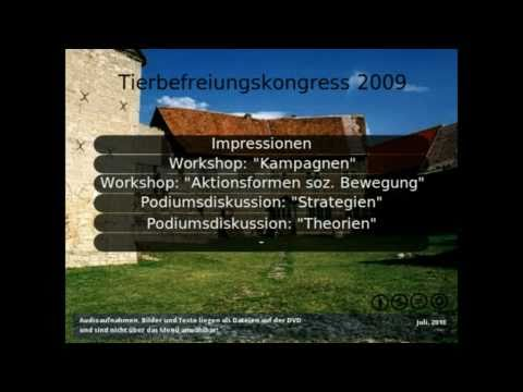 Tierbefreiungskongress 2009 (Soli-DVD Preview)