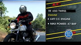 Royal Enfield 650cc Twins| First Ride | Living Cars - NEWSXLIVE