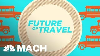 This Futuristic Transport System Could End Traffic Jams | Mach | NBC News - NBCNEWS
