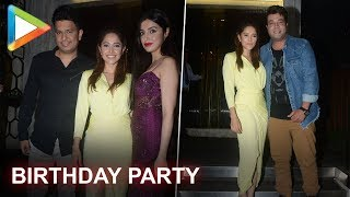 Bhushan Kumar, Varun Sharma & other celebs attend Nushrat Bharucha's birthday party - HUNGAMA