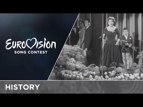 Pierwsza laureatka Konkursu Piosenki Eurowizji Lys Assia. Fragment nagrania z 1956 r.