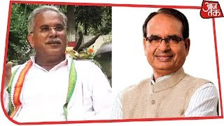 Congress Leads In Four Seats In Chattisgarh, BJP Leads In Two In Madhya Pradesh | First Results - AAJTAKTV