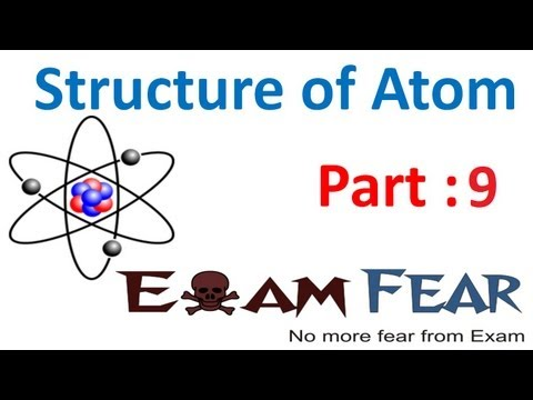 Chemistry Structure of Atom part 9 (Rutherford atomic model) CBSE class 11 XI