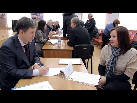 Депутаты-единороссы Воронежской горДумы отметили юбилей партии массовым приёмом избирателей