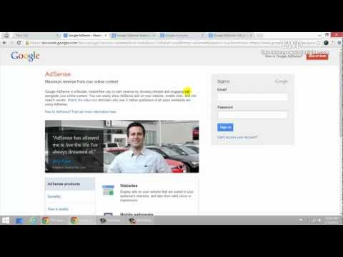 Adsense Blog Money Tutorial