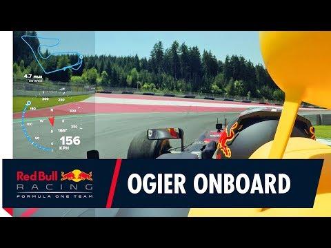 Видео: Онборд Себастьена Ожье за рулем RB7