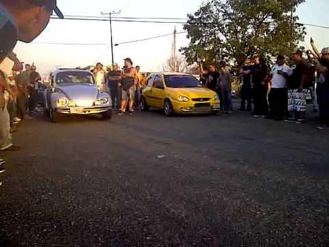 Corsa Vs volkswagen escarabajo Valencia Piques San Miguelv