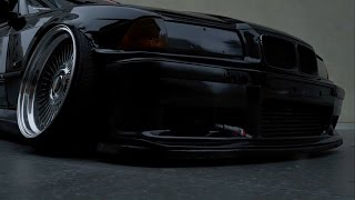 Дикий развал на BMW E36