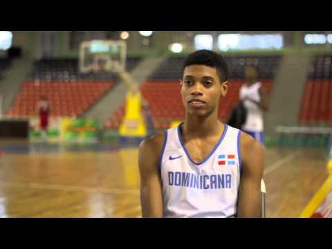 Selección Dominicana Baloncesto U-18 - Junio 2014 - www.colimdo.org