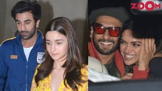 Tension between Alia Bhatt & Ranbir Kapoor? | Ranveer & Deepika's romance in public | Bolly Quickie - ZOOMDEKHO