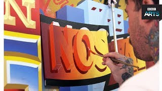Hands On: Signwriter Ciaran Glöbel - BBC Arts - BBC