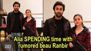 Alia SPENDING time with Ranbir in New York ! - IANSLIVE