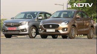 Dzire vs Amaze, Evoque Convertible & EVoX Electric Race Car - NDTV