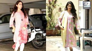 Is Jhanvi Kapoor COPYING Sara Ali Khan?| LehrenTV