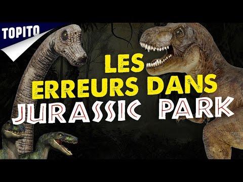 Top 8 des erreurs scientifiques dans Jurassic Park