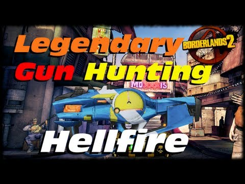 Borderlands 2 Legendary Weapon Guide The Hellfire! Legendary Maliwan SMG! (1080p)