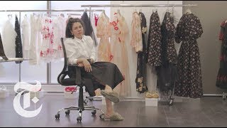 Inside Simone Rocha's All-Female Fashion House | In The Studio - THENEWYORKTIMES