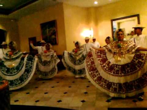 Panama Folklor dances Atravezado Denessa 2011