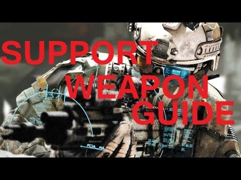 Battlefield 3 Support Class Weapon Guide