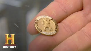 Pawn Stars: 1929 World Series Press Pin (Season 5) | History - HISTORYCHANNEL