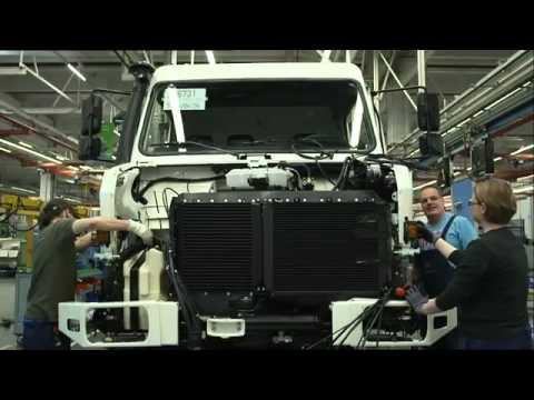 Mercedes Benz Special Trucks UNIMOG Plant in Woerth