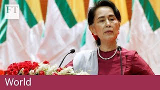 Myanmar leader vows to help Rohingya minority | World - FINANCIALTIMESVIDEOS