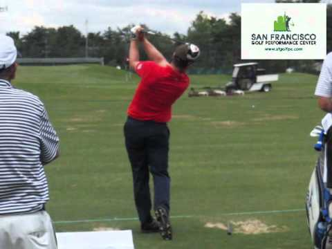 Luke Donald Driver DL Slow Motion Golf Swing 240 FPS