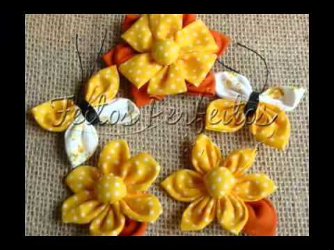 Feitos Perfeitos - Flores de Fuxico.WMV