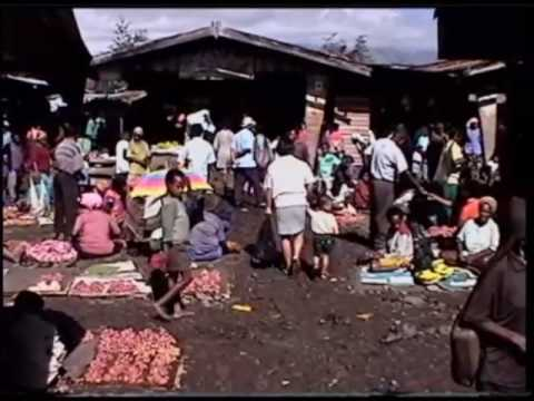 The open market of Wamena