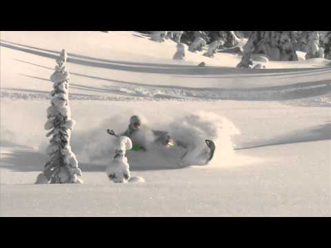 Sledding BC Powder on Ski-Doo Summit, Freeride Sleds