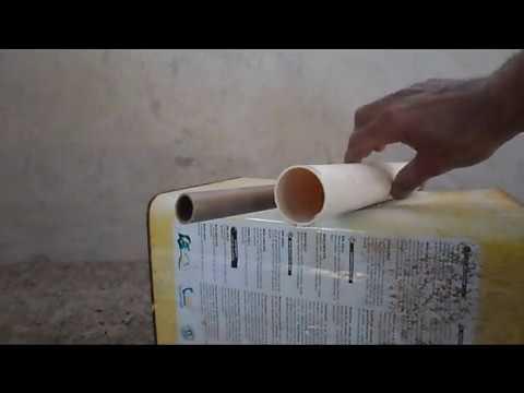 97. HIDRÁULICA - COMO CORTAR TUBO DE PVC COM ARAME GALVANIZADO