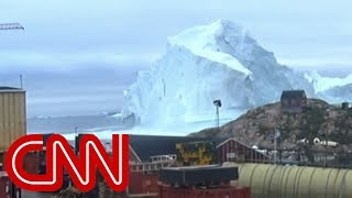 Massive iceberg threatens tiny village - CNN