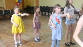 Открытый урок детского ансамбля танцев