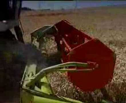 CLAAS MEDION SERIES COMBINE HARVESTER ORIGINAL VIDEO...!!!