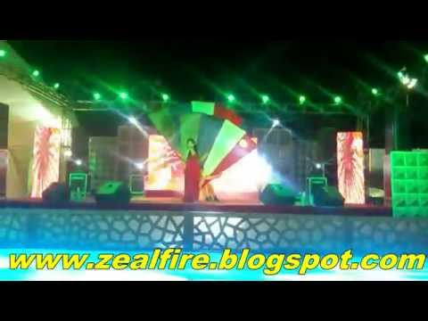 Zeal Fire Dance Troupe + Indian Idol season 3 Harshi mad [Anil Verma Choreographer ]