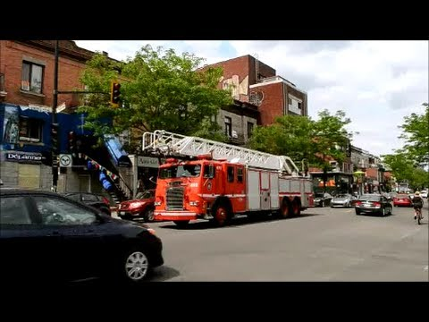 MONTREAL QC FIRE TRUCKS NOT RESPONDING