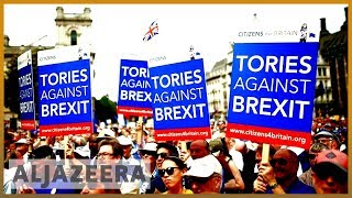 🇬🇧UK public frustration grows over Brexit crisis | Al Jazeera English - ALJAZEERAENGLISH