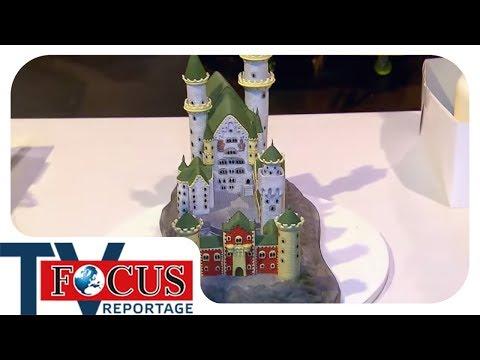 Kuchen-Kunst und Torten-Trend | Deutschland im Back-Wahn - Focus TV Reportage
