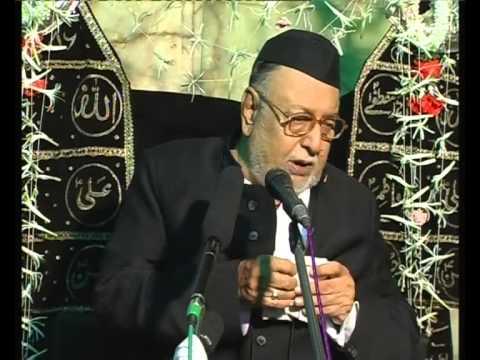 Maulana Mirza Mohammed Athar, Majlis 2, Mahe Moharram 2012/2013, Venue = Mogul Masjid (Mumbai)