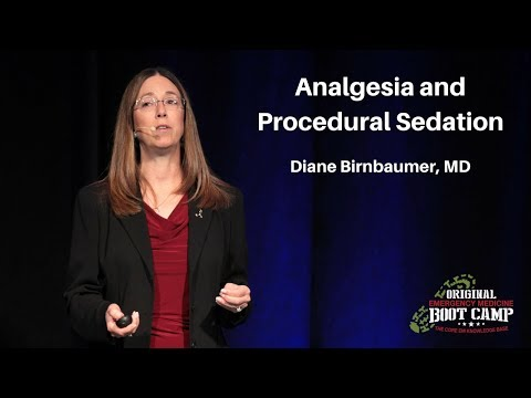 PA / NP Emergency Medicine Bootcamp - Analgesia and Procedural Sedation