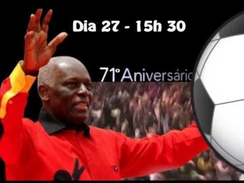 Spot - Foot -  71e anniversaire du président José Edouardo Dos Santos