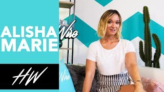 ALISHA MARIE Teases New Content After Youtube Hiatus !! - HOLLYWIRETV