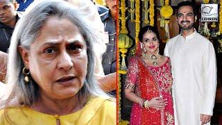 Jaya Bachchan SHOUTS At Priest At Esha Deols Baby Shower! | LehrenTV