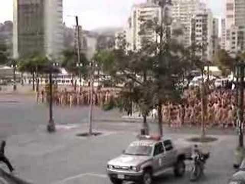 Spencer Tunick Caracas