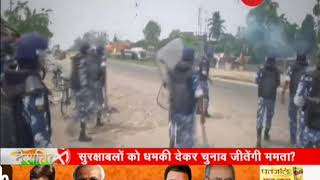 Deshhit: Will Mamata Banerjee win elections by threatning security forces in West Bengal? - ZEENEWS